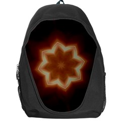 Christmas Flower Star Light Kaleidoscopic Design Backpack Bag