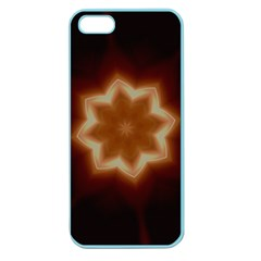 Christmas Flower Star Light Kaleidoscopic Design Apple Seamless iPhone 5 Case (Color)