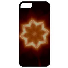 Christmas Flower Star Light Kaleidoscopic Design Apple iPhone 5 Classic Hardshell Case