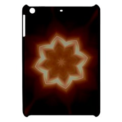 Christmas Flower Star Light Kaleidoscopic Design Apple iPad Mini Hardshell Case
