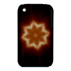 Christmas Flower Star Light Kaleidoscopic Design iPhone 3S/3GS