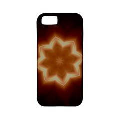 Christmas Flower Star Light Kaleidoscopic Design Apple iPhone 5 Classic Hardshell Case (PC+Silicone)