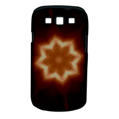 Christmas Flower Star Light Kaleidoscopic Design Samsung Galaxy S III Classic Hardshell Case (PC+Silicone)