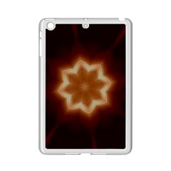 Christmas Flower Star Light Kaleidoscopic Design iPad Mini 2 Enamel Coated Cases