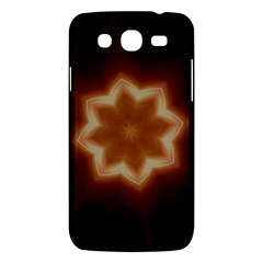 Christmas Flower Star Light Kaleidoscopic Design Samsung Galaxy Mega 5.8 I9152 Hardshell Case