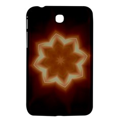 Christmas Flower Star Light Kaleidoscopic Design Samsung Galaxy Tab 3 (7 ) P3200 Hardshell Case