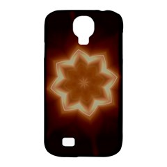 Christmas Flower Star Light Kaleidoscopic Design Samsung Galaxy S4 Classic Hardshell Case (PC+Silicone)