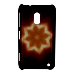Christmas Flower Star Light Kaleidoscopic Design Nokia Lumia 620