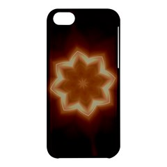 Christmas Flower Star Light Kaleidoscopic Design Apple iPhone 5C Hardshell Case