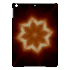 Christmas Flower Star Light Kaleidoscopic Design iPad Air Hardshell Cases