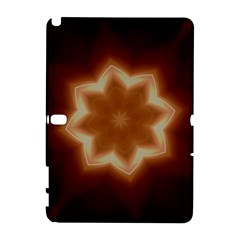 Christmas Flower Star Light Kaleidoscopic Design Galaxy Note 1