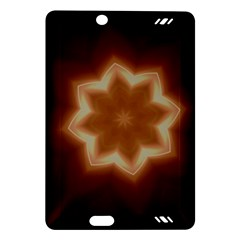 Christmas Flower Star Light Kaleidoscopic Design Amazon Kindle Fire HD (2013) Hardshell Case