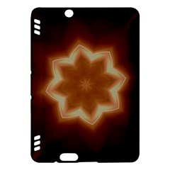 Christmas Flower Star Light Kaleidoscopic Design Kindle Fire HDX Hardshell Case