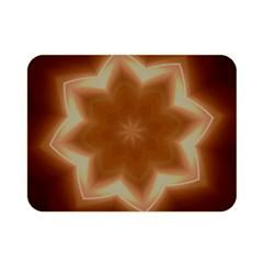 Christmas Flower Star Light Kaleidoscopic Design Double Sided Flano Blanket (Mini)