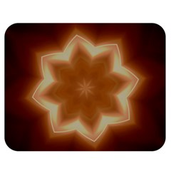 Christmas Flower Star Light Kaleidoscopic Design Double Sided Flano Blanket (Medium)