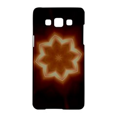 Christmas Flower Star Light Kaleidoscopic Design Samsung Galaxy A5 Hardshell Case