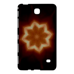 Christmas Flower Star Light Kaleidoscopic Design Samsung Galaxy Tab 4 (8 ) Hardshell Case