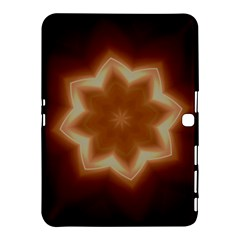 Christmas Flower Star Light Kaleidoscopic Design Samsung Galaxy Tab 4 (10.1 ) Hardshell Case