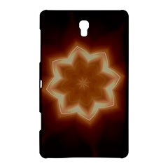 Christmas Flower Star Light Kaleidoscopic Design Samsung Galaxy Tab S (8.4 ) Hardshell Case