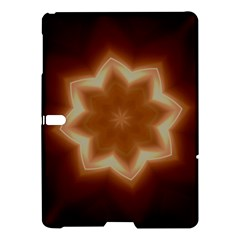 Christmas Flower Star Light Kaleidoscopic Design Samsung Galaxy Tab S (10.5 ) Hardshell Case