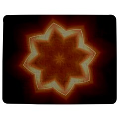 Christmas Flower Star Light Kaleidoscopic Design Jigsaw Puzzle Photo Stand (Rectangular)