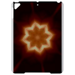 Christmas Flower Star Light Kaleidoscopic Design Apple Ipad Pro 9 7   Hardshell Case