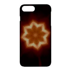 Christmas Flower Star Light Kaleidoscopic Design Apple iPhone 7 Plus Hardshell Case