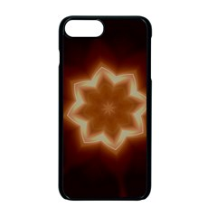 Christmas Flower Star Light Kaleidoscopic Design Apple iPhone 7 Plus Seamless Case (Black)
