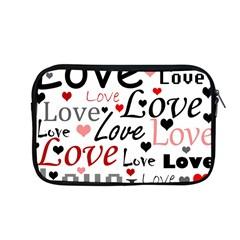 Love Pattern   Red Apple Macbook Pro 13  Zipper Case