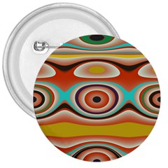 Oval Circle Patterns 3  Buttons