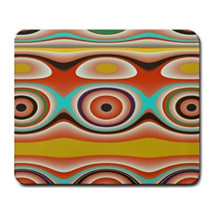 Oval Circle Patterns Large Mousepads