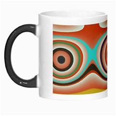 Oval Circle Patterns Morph Mugs