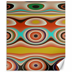 Oval Circle Patterns Canvas 20  x 24