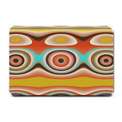Oval Circle Patterns Small Doormat