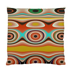 Oval Circle Patterns Standard Cushion Case (one Side)
