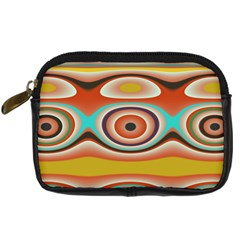 Oval Circle Patterns Digital Camera Cases