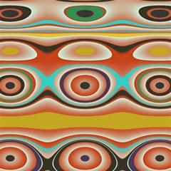 Oval Circle Patterns Magic Photo Cubes