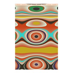 Oval Circle Patterns Shower Curtain 48  x 72  (Small)