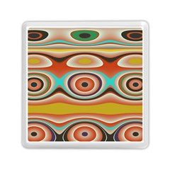 Oval Circle Patterns Memory Card Reader (Square)