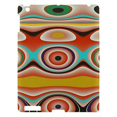 Oval Circle Patterns Apple iPad 3/4 Hardshell Case