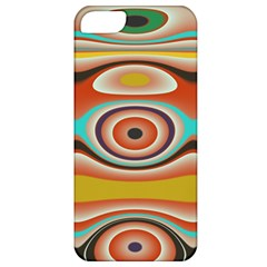 Oval Circle Patterns Apple Iphone 5 Classic Hardshell Case