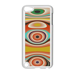 Oval Circle Patterns Apple iPod Touch 5 Case (White)
