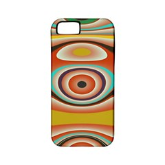 Oval Circle Patterns Apple iPhone 5 Classic Hardshell Case (PC+Silicone)