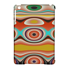Oval Circle Patterns Apple iPad Mini Hardshell Case (Compatible with Smart Cover)