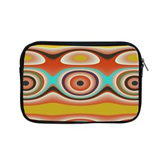 Oval Circle Patterns Apple iPad Mini Zipper Cases