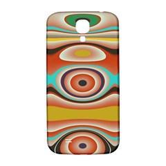 Oval Circle Patterns Samsung Galaxy S4 I9500/I9505  Hardshell Back Case