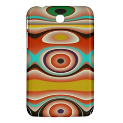 Oval Circle Patterns Samsung Galaxy Tab 3 (7 ) P3200 Hardshell Case