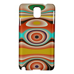 Oval Circle Patterns Samsung Galaxy Note 3 N9005 Hardshell Case