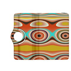 Oval Circle Patterns Kindle Fire HDX 8.9  Flip 360 Case