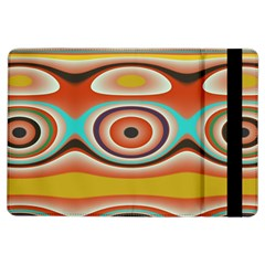 Oval Circle Patterns Ipad Air Flip